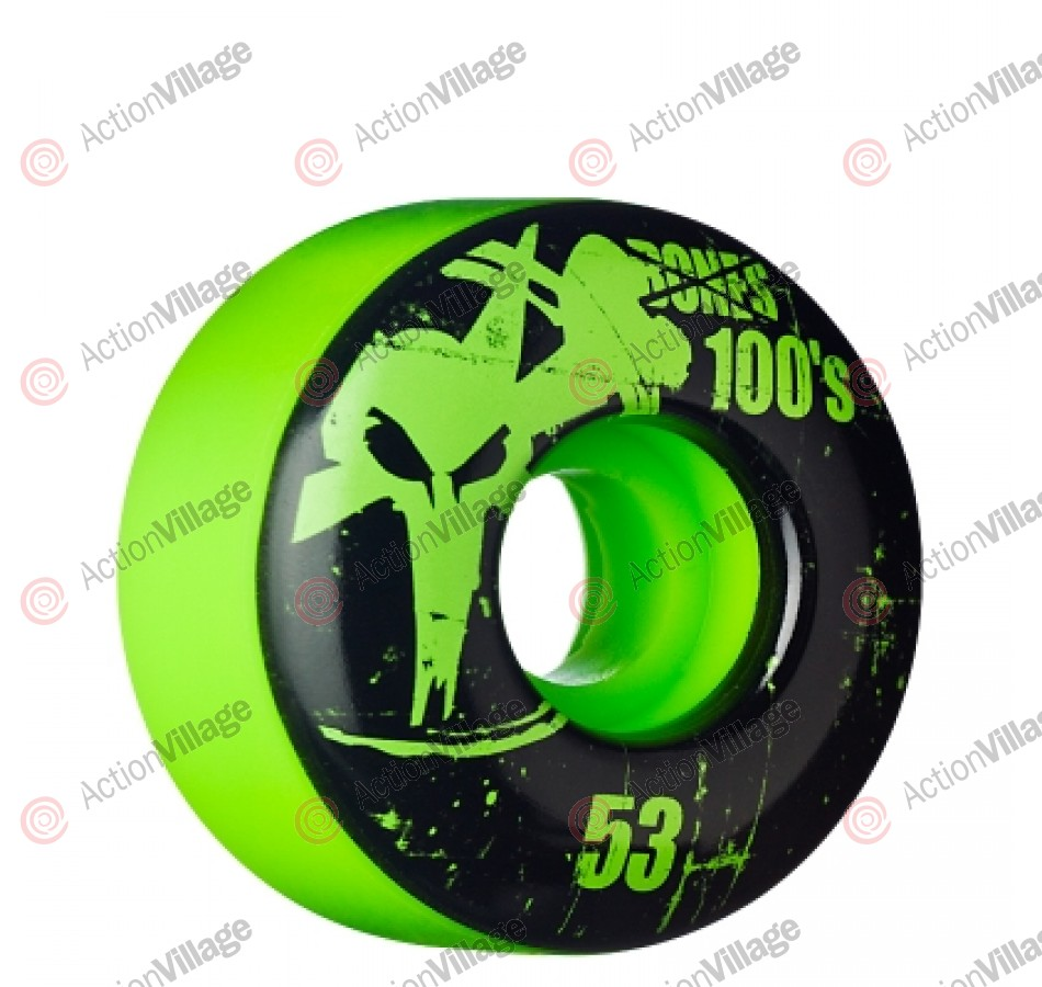 Bones O.G. Formula 100 - 53mm - Green - Skateboard Wheels