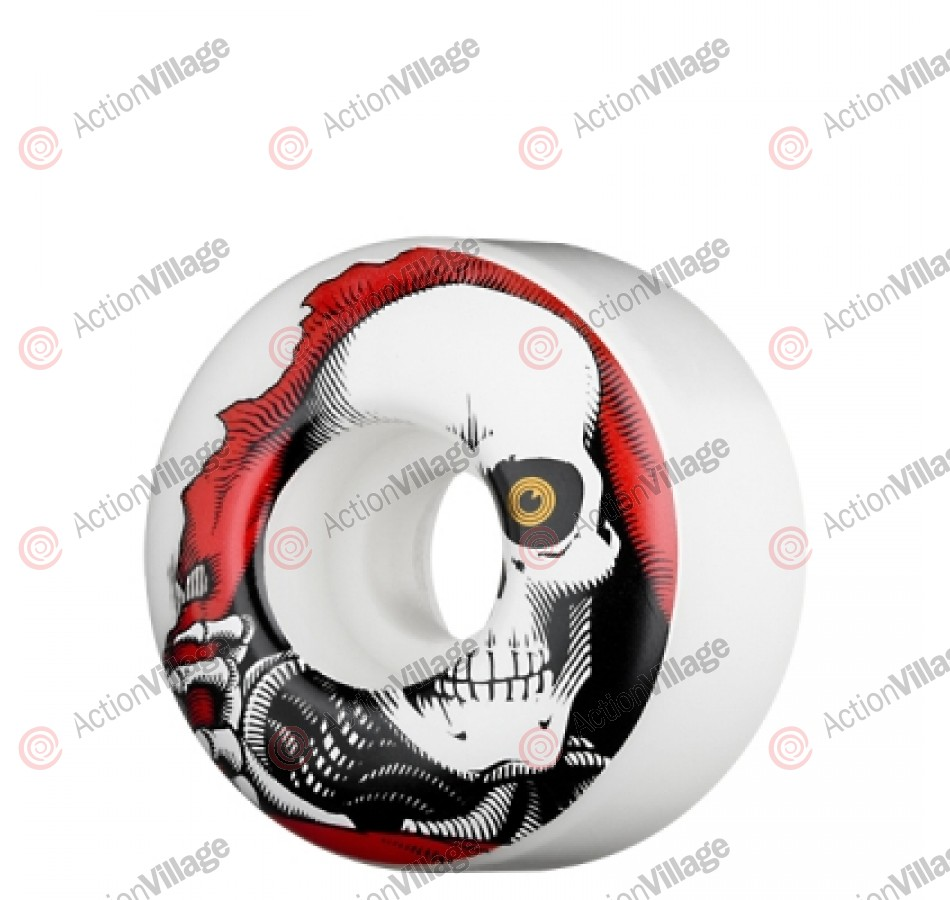 Powell Peralta Ripper - 54mm - White - Skateboard Wheels