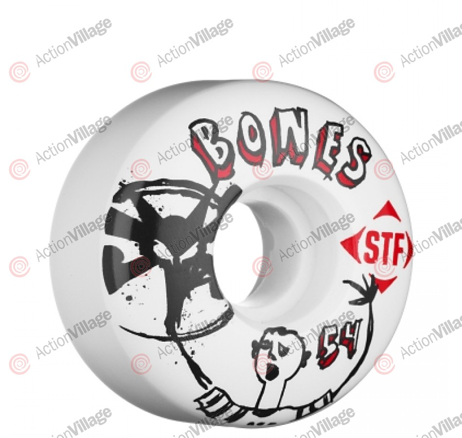 Bones Street Tech Formula Los Otros -  54mm - White - Skateboard Wheels