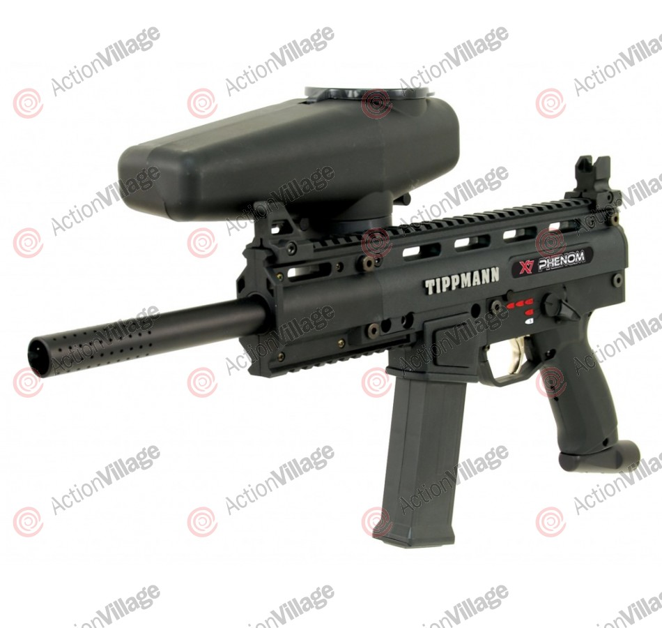 Tippmann X7 Phenom Paintball Gun - Black