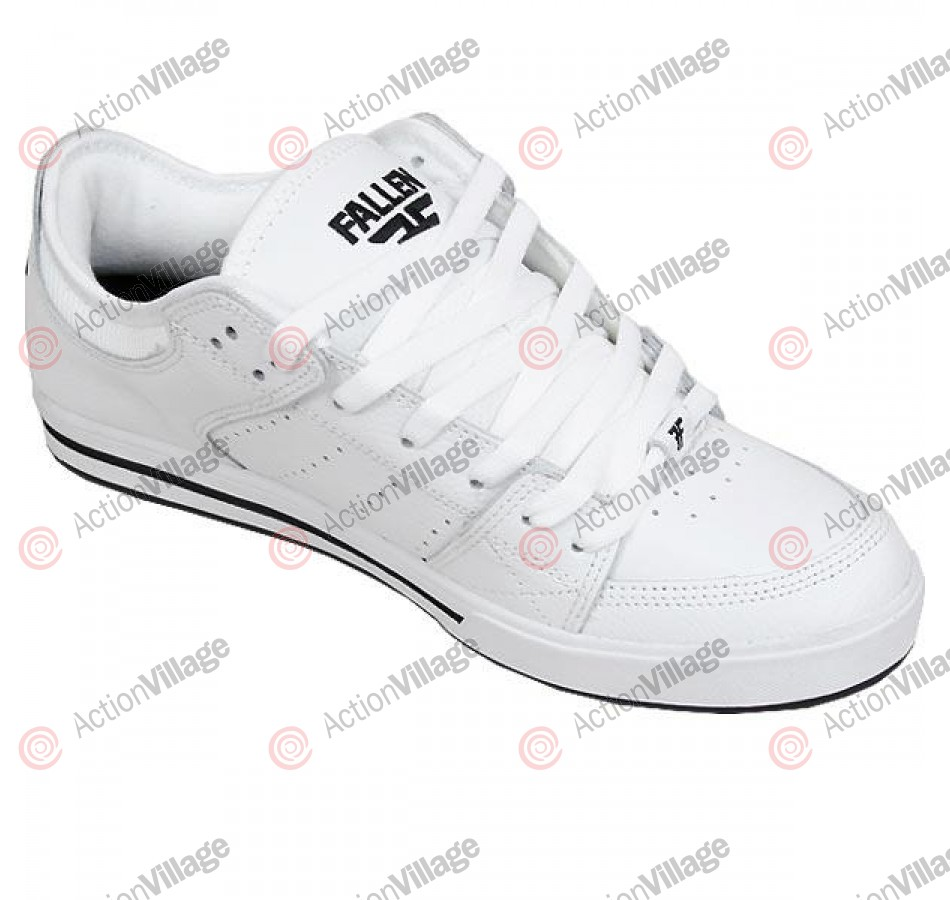 Fallen Trooper SL - Men's Shoes White / Black - Size 8