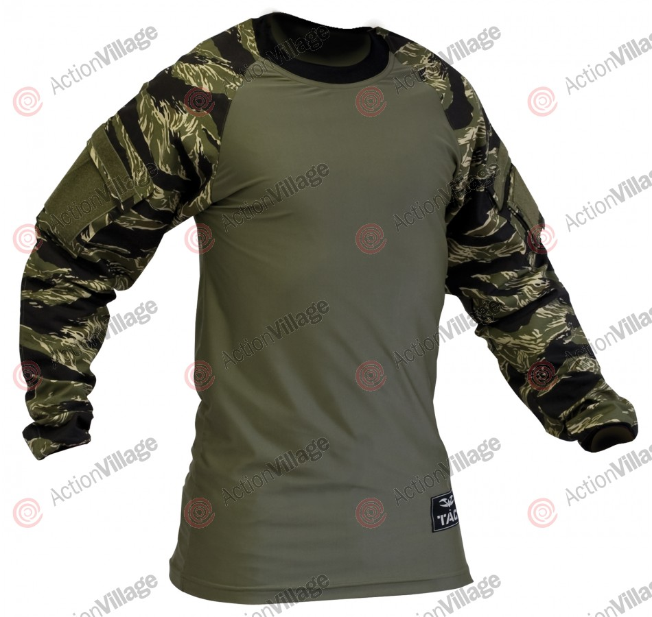 Valken V-Tac Zulu Paintball Jersey - Tiger Stripe