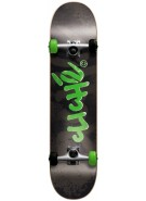 Cliche Spray - Black/Green - 8.0 - Complete Skateboard