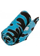 Nikita Zulu Nut Beach Towel - Blue - Towel