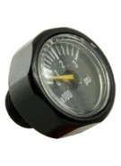 Invert 300 PSI Micro Gauge - Black