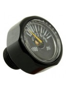 Invert 600 PSI Micro Gauge - Black