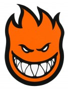 Spitfire Fireball Extra Large Orange - Sticker - Assorted Colors
