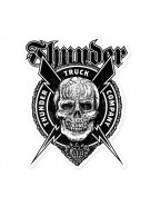 Thunder Por Vida Die Cut Medium - Sticker