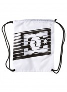 DC Men's Simpski Cinch Bag - White/Black - Apparel Accessory