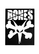 "Bones 16"" Ramp Square Sticker - Black/White - Sticker"