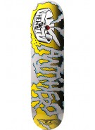 Anti-Hero Gerwer Ooze - 8.12 - Yellow - Skateboard Deck