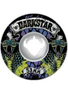 Darkstar Haven Cobra Street Formula - White - 53mm - Skateboard Wheels