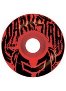 Darkstar Stack Price Knight - Red/Black - 53mm - Skateboard Wheels