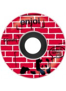 Enjoi Street Art Premium Wheel - Red - 50mm - Skateboard Wheels