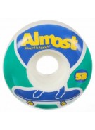 Almost Lil' MO Standard Wheel - Purple/Teal - 53mm - Skateboard Wheels