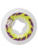 OJ 50mm Far Out White 80b - Skateboard Wheels