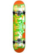 Blind Graffiti Micro Youth - Orange/Green - 6.75 - Complete Youth Skateboard