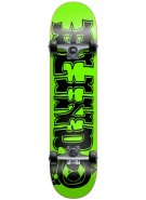 Blind Fluorescent Kenny Mini - Green/Black - 7.0 - Youth Complete Skateboard