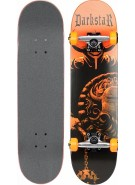Darkstar Mace Complete Youth FP - Orange - 7.3 - Complete Skateboard