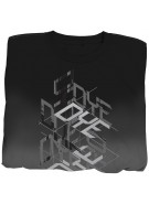 2011 Dye Stacked T-Shirt - Black/Grey