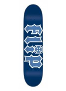 Flip Team HKD - 31.8in x 7.875in - Blue - Skateboard Deck