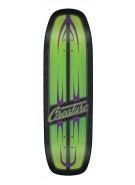 Creature 64 Impaleya Powerply - 32.3in x 8.8in - Black/Green - Skateboard Deck