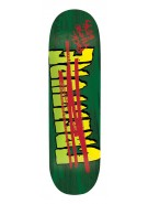 Creature FTG Large Powerply - 32.35in x 8.8in - Green - Skateboard Deck