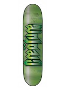 Creature Cold Steel SM Powerply - 31.2in x 7.7in - Green - Skateboard Deck