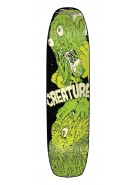 Creature Wants To Say Hi! Powerply - 31.9in x 8.25in - Green - Skateboard Deck