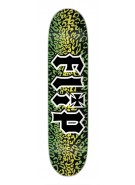 Flip Team Leopard - 31.5in x 8.0in - Black - Skateboard Deck