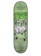 Creature Partanen Shred Party Powerply - 31.9in x 8.2in - Green - Skateboard Deck