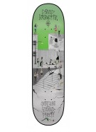 Creature Gravette Shred Party Powerply - 31.6in x 8.0in - Green/Grey - Skateboard Deck