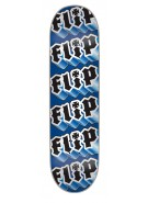 Flip Team Third Dimension - 32.2in  x 8.0in - Blue - Skateboard Deck