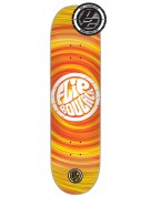 Flip Boulala HipNotic P2 - 32.31in x 8.25in - Yellow/Orange - Skateboard Deck