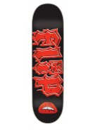 Flip BoulalaTime Warp - 32.31in x 8.25in - Black/Red - Skateboard Deck