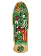 Santa Cruz Roskopp Face 2 Reissue - 30.8in x 9.9in - Natural - Skateboard Deck