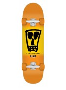 Flip Mountain Vato Park Jr - 7.95in x 31.38in - Orange - Complete Skateboard