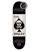 Flip Rowley Death Card P2 - 32.31in x 8.25in - Black - Skateboard Deck