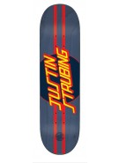 Santa Cruz Strubing Pro Dot Powerply - 32.2in x 8.3in - Blue - Skateboard Deck