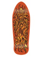Santa Cruz Jessee Sun God Reissue - 29.7in x 9.9in - Orange - Skateboard Deck