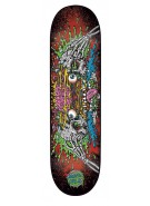 Santa Cruz Facial II Powerply - 31.6in x 8.0in - Black - Skateboard Deck