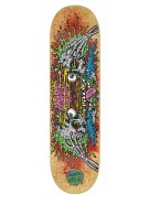 Santa Cruz Facial II Powerply - 31.8in x 8.25in - Natural - Skateboard Deck