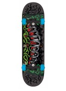 Santa Cruz Atomic Cemetary Powerply - 7.7in x 31.4in - Black - Complete Skateboard
