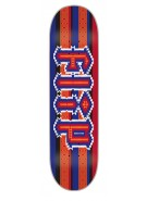 Flip Team Poncho - 32.2in x 8.0in - Blue/Red - Skateboard Deck