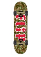 Flip Team Combat - 8.25in x 32.31in - Green - Complete Skateboard