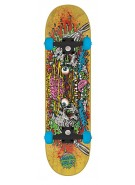 Santa Cruz Phillips Facial II Powerply - 7.8in x 31.7in - Yellow - Complete Skateboard