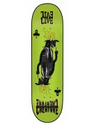 Creature Evilive LG Powerply - 32.15in x 8.5in - Green - Skateboard Deck