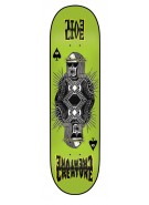 Creature Evilive XL Powerply - 32.5in x 8.8in - Green - Skateboard Deck