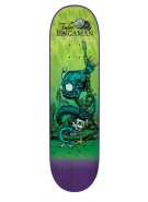 Creature Bingaman Cove Powerply - 32in x 8.375in - Green - Skateboard Deck