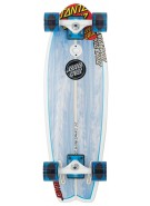 Santa Cruz Skate Land Shark Cruzer 8.8in x 27.7in - Complete Skateboard